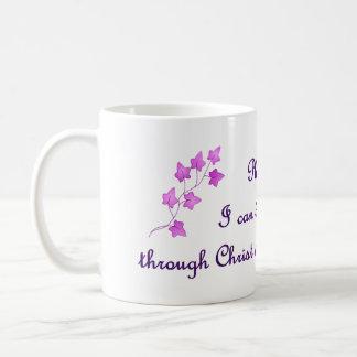 Phil 4:13: I can do all things through Christ Mug