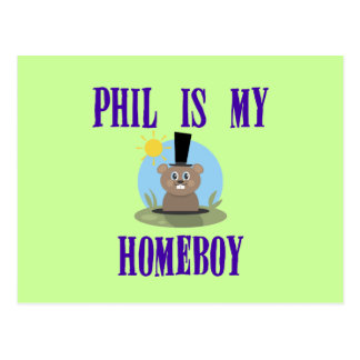 Phil is My Homeboy Postcard
