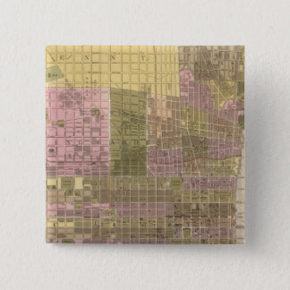 Philadelphia 15 Cm Square Badge