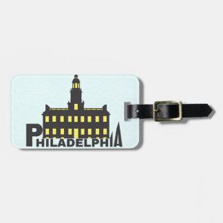 Philadelphia 1 luggage tag