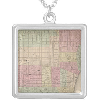 Philadelphia 2 silver plated necklace