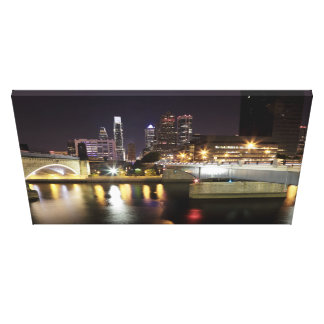 Philadelphia 30th Street Side Canvas Print