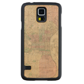 Philadelphia 3 carved maple galaxy s5 case