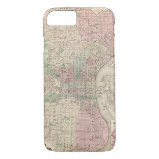 Philadelphia 3 iPhone 8/7 case