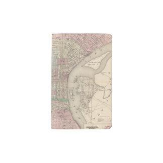 Philadelphia 3 pocket moleskine notebook