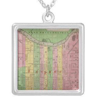 Philadelphia 3 silver plated necklace