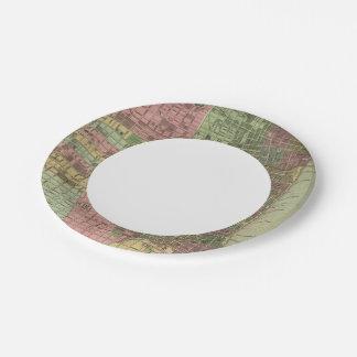 Philadelphia 4 paper plate
