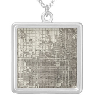 Philadelphia 4 silver plated necklace