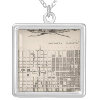 Philadelphia 6 silver plated necklace