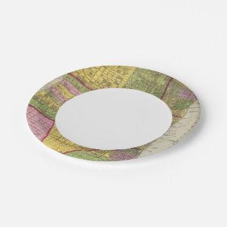 Philadelphia 7 paper plate