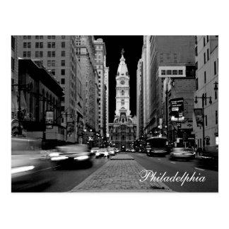 Philadelphia at Night Postcard
