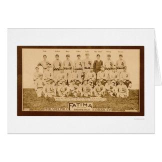 Philadelphia Athletics 1913 Card