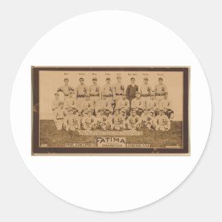 Philadelphia Athletics 1913 Round Sticker