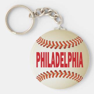 PHILADELPHIA BASEBALL KEY RING