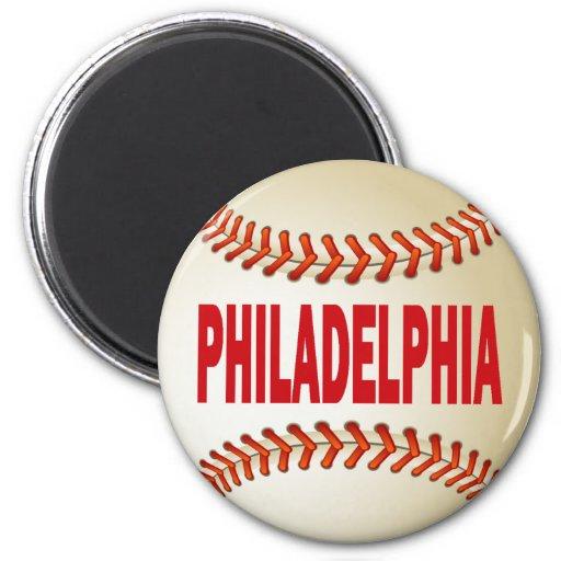 PHILADELPHIA BASEBALL MAGNETS