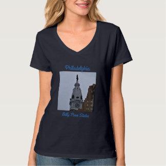 Philadelphia Billy Penn Statue Photo Tee Shirt