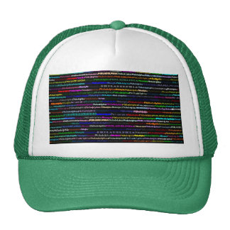 Philadelphia Black Background Hat