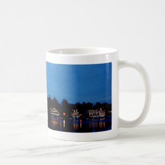 Philadelphia Boat House Row, evening Coffee Mug