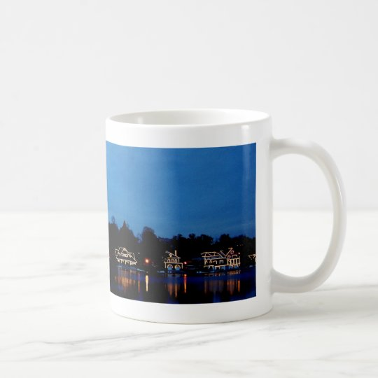 Philadelphia Boat House Row, evening Coffee Mug