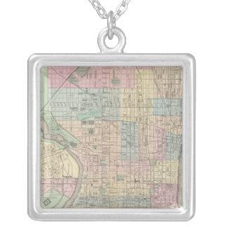 Philadelphia, Camden Silver Plated Necklace