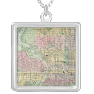 Philadelphia, Camden Silver Plated Necklace