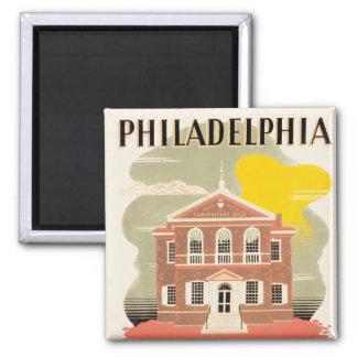 Philadelphia Carpenter's Hall Magnet