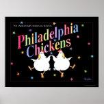 PHILADELPHIA CHICKENS poster by Sandra Boynton
