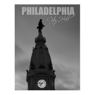 Philadelphia City Hall in Pennsylvania Postcard