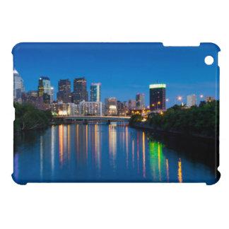 Philadelphia City Skyline at Night Mini iPad Case