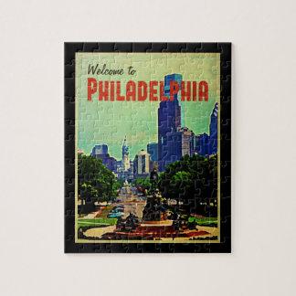 Philadelphia Cityscape Jigsaw Puzzle