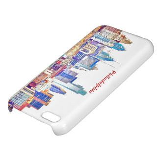 Philadelphia Color Sketch iPhone 5C Covers