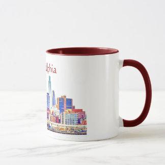 Philadelphia Color Sketch Mug