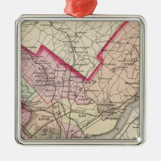 Philadelphia County, City Christmas Ornament