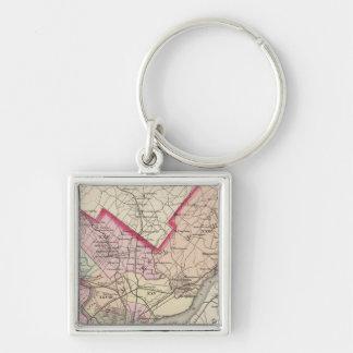 Philadelphia County, City Key Ring