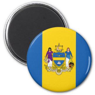 Philadelphia Flag 6 Cm Round Magnet