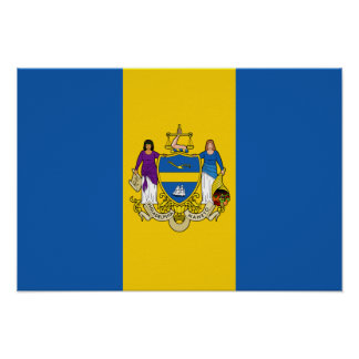 Philadelphia Flag Poster