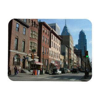 Philadelphia Rectangular Photo Magnet