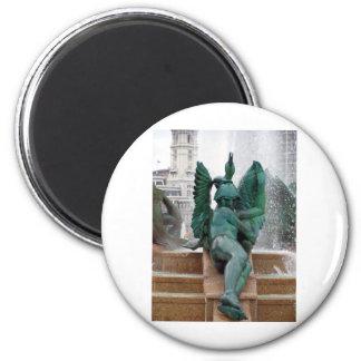 Philadelphia fountain magnet