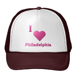 Philadelphia -- Hot Pink Hat