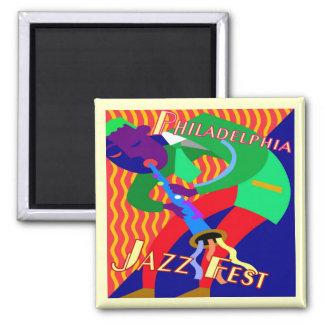Philadelphia Jazz Fest Magnet