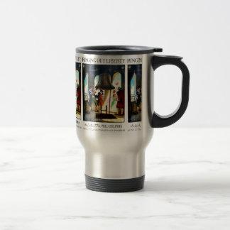 Philadelphia Liberty on The Pennsylvania Railroad Travel Mug