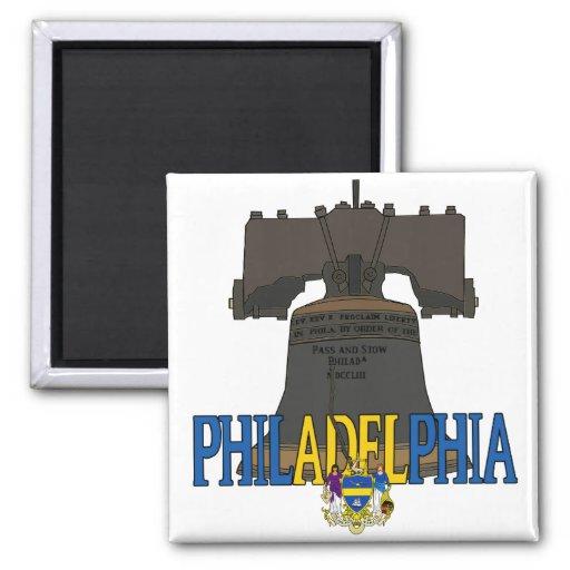 Philadelphia Fridge Magnet