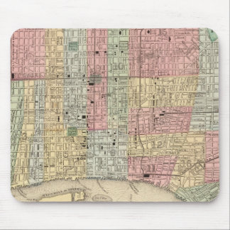 Philadelphia Map by Mitchell Mouse Mat