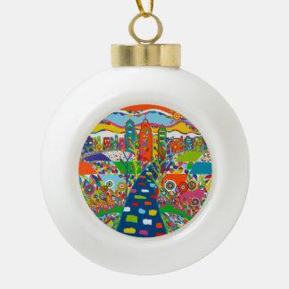 Philadelphia, PA Christmas Ornament