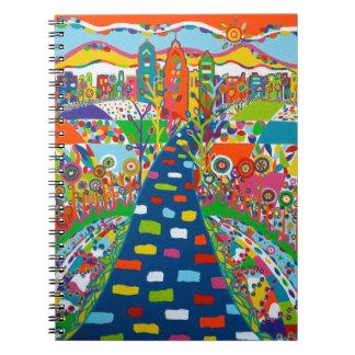 Philadelphia, PA Spiral Notebook