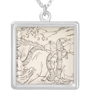 Philadelphia, Pennsylvania 2 Silver Plated Necklace