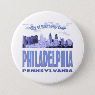 Philadelphia Pennsylvania 7.5 Cm Round Badge
