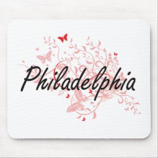 Philadelphia Pennsylvania City Artistic design wit Mouse Mat