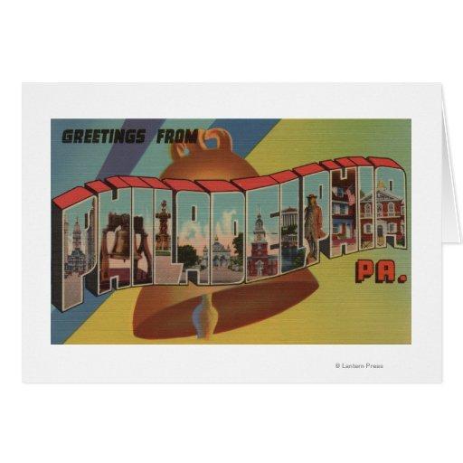 Philadelphia, Pennsylvania (Liberty Bell) Greeting Cards