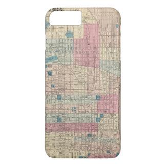 Philadelphia, Pennsylvania Map iPhone 8 Plus/7 Plus Case